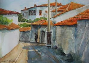 Ressam Selçuk Gürbüz-Suluboya