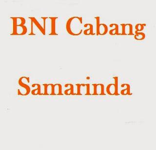Bank BNI KCU Samarinda kaltim