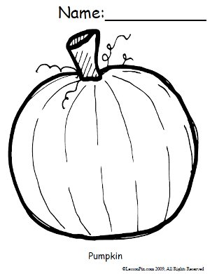 Coloring Pictures Of Pumpkins