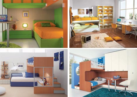 Bedroom design kids bedroom design ideas for Designer childrens bedroom ideas