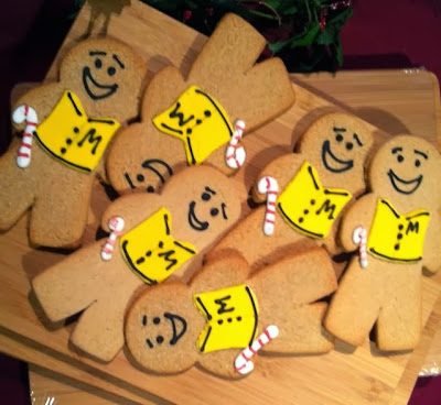 Ginger the Gingerbread man & his clones