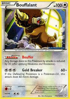 Bouffalant Dragons Exalted Pokemon Card