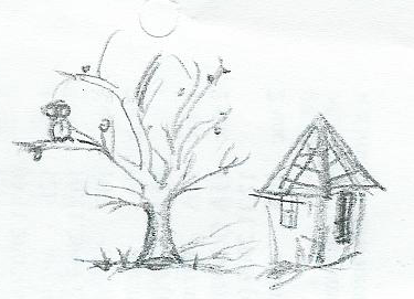 A House and Tree