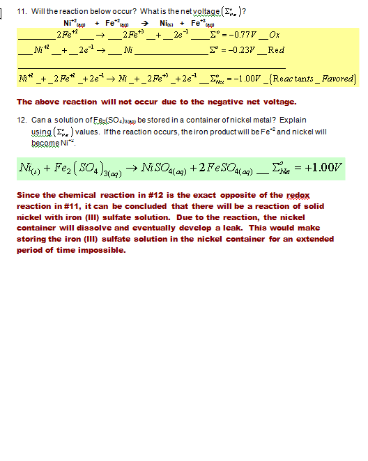 Liver and Onions are Super III March 2014 – Balancing Redox Equations Worksheet