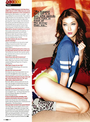 Mei Zhu HQ Pictures FHM Singapore Magazine Photoshoot February 2014