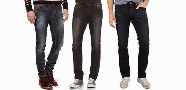 Gambar model celana jeans denim pria wanita
