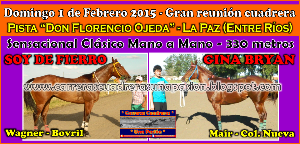 LA PAZ - 01.02.2015 - CLASICO 330