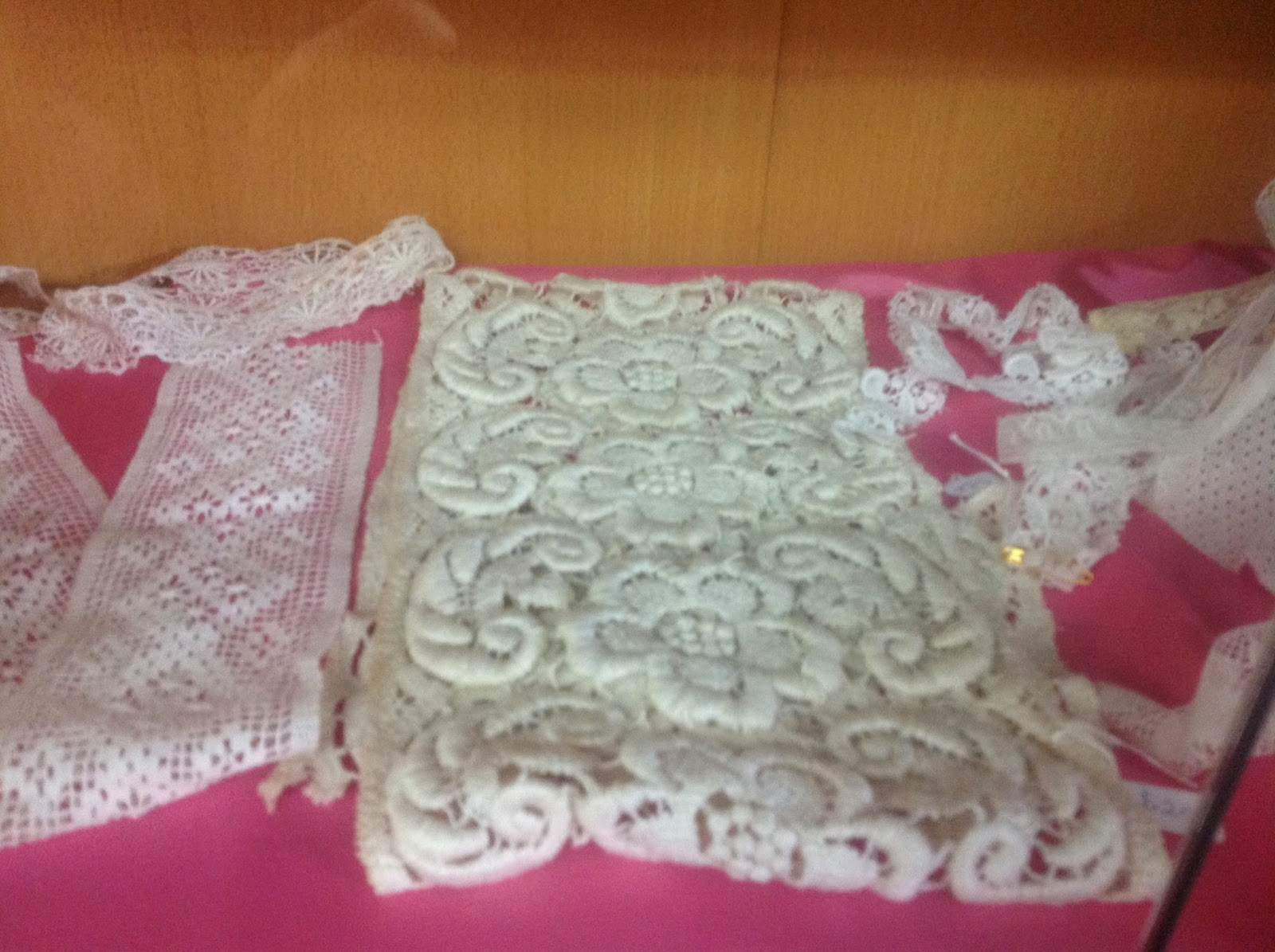 Assorted antique lace from $3 per 30 cm