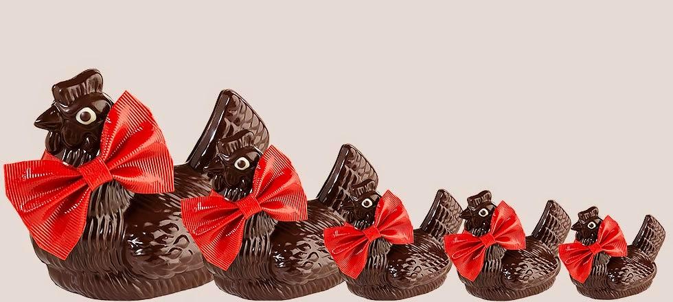 A l'approche de Pâques le chocolatier Jean-Paul Hévin invite tous les gourmands à une grande chasse aux oeufs !