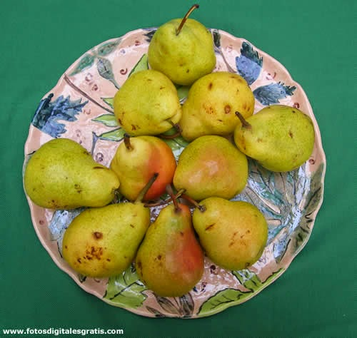 cocina naturista,comida natural,peras,alimento saludable