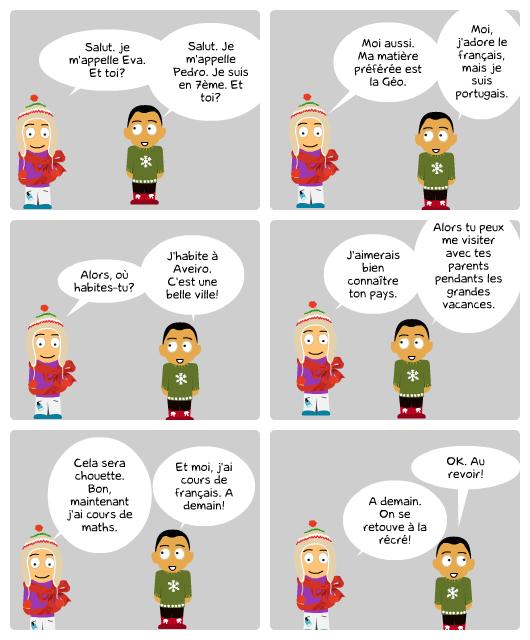 Souvent Lesson 2 - Se Présenter | Apprendre la Langue, Vivre la culture ZB81