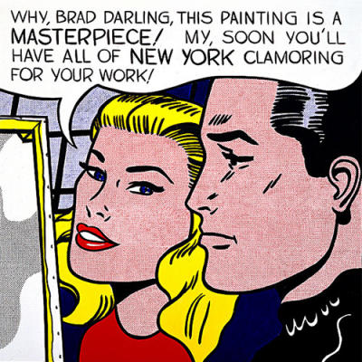 Roy Lichtenstein-Why, Brad Darling