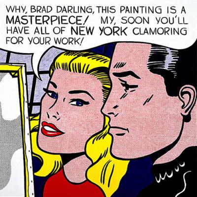 Roy Lichtenstein-Why, Brad Darling