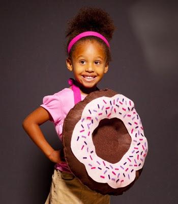 Makers + Shakers Meet Confetti Pop donut costume