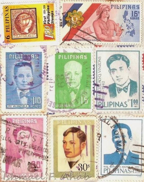 Philippine heroes stamp of PhilPost