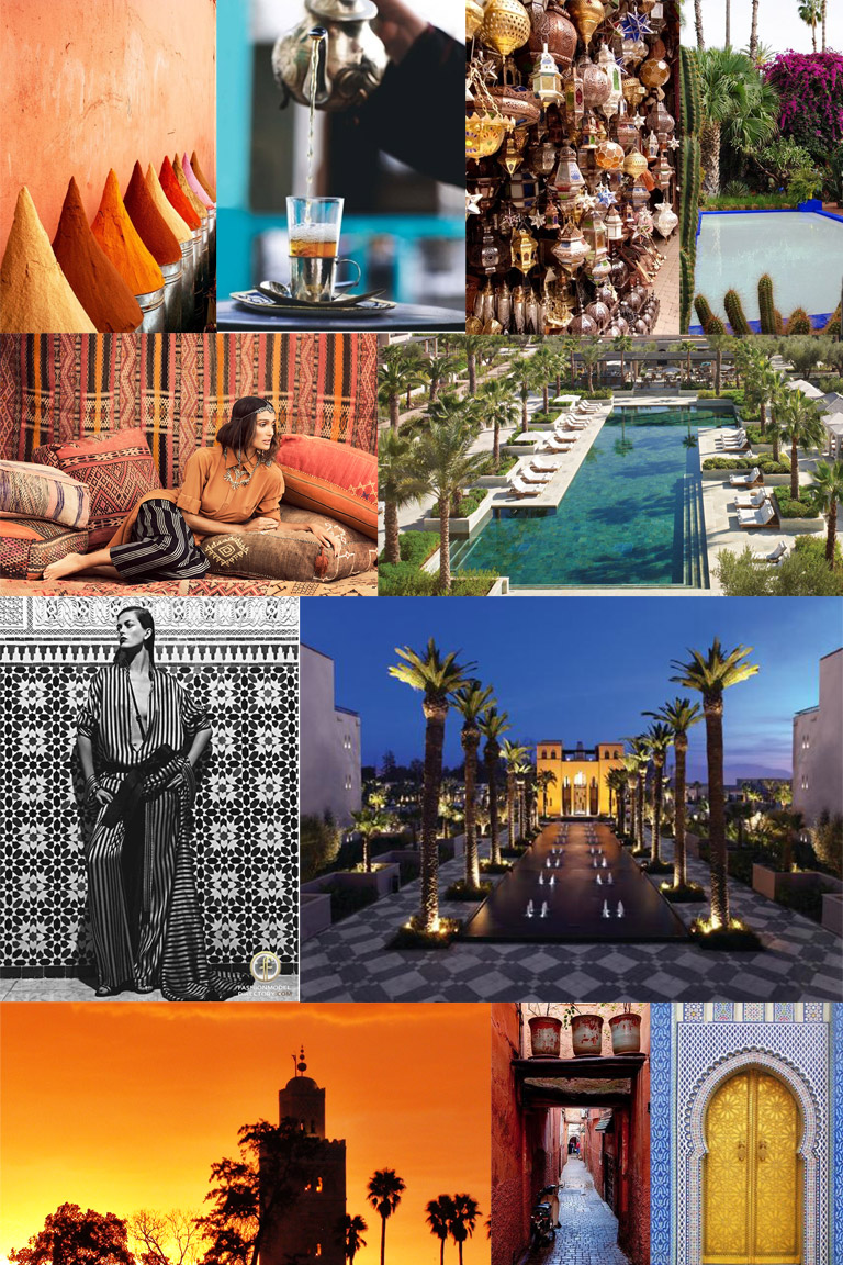 marrakech collage