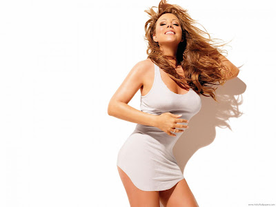 Mariah Carey American Actress and Singer Wallpaper