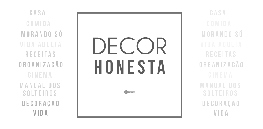 Decor Honesta | Decorando com pouca grana