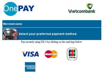 OnePay Payment Screen