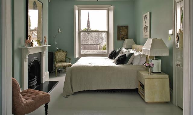 Noir blanc un style for Duck egg blue living room ideas