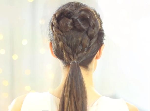 Peinados Peinados con trenzas faciles paso a paso Peinados para