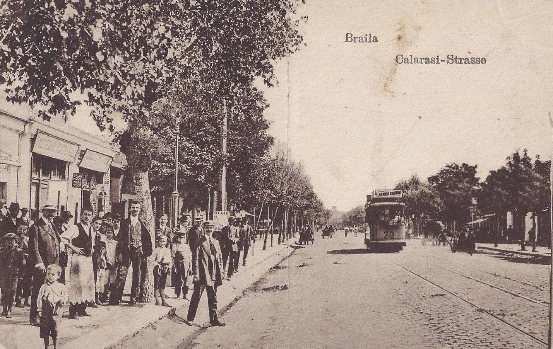 Strada Calarasi din Braila de odinioara