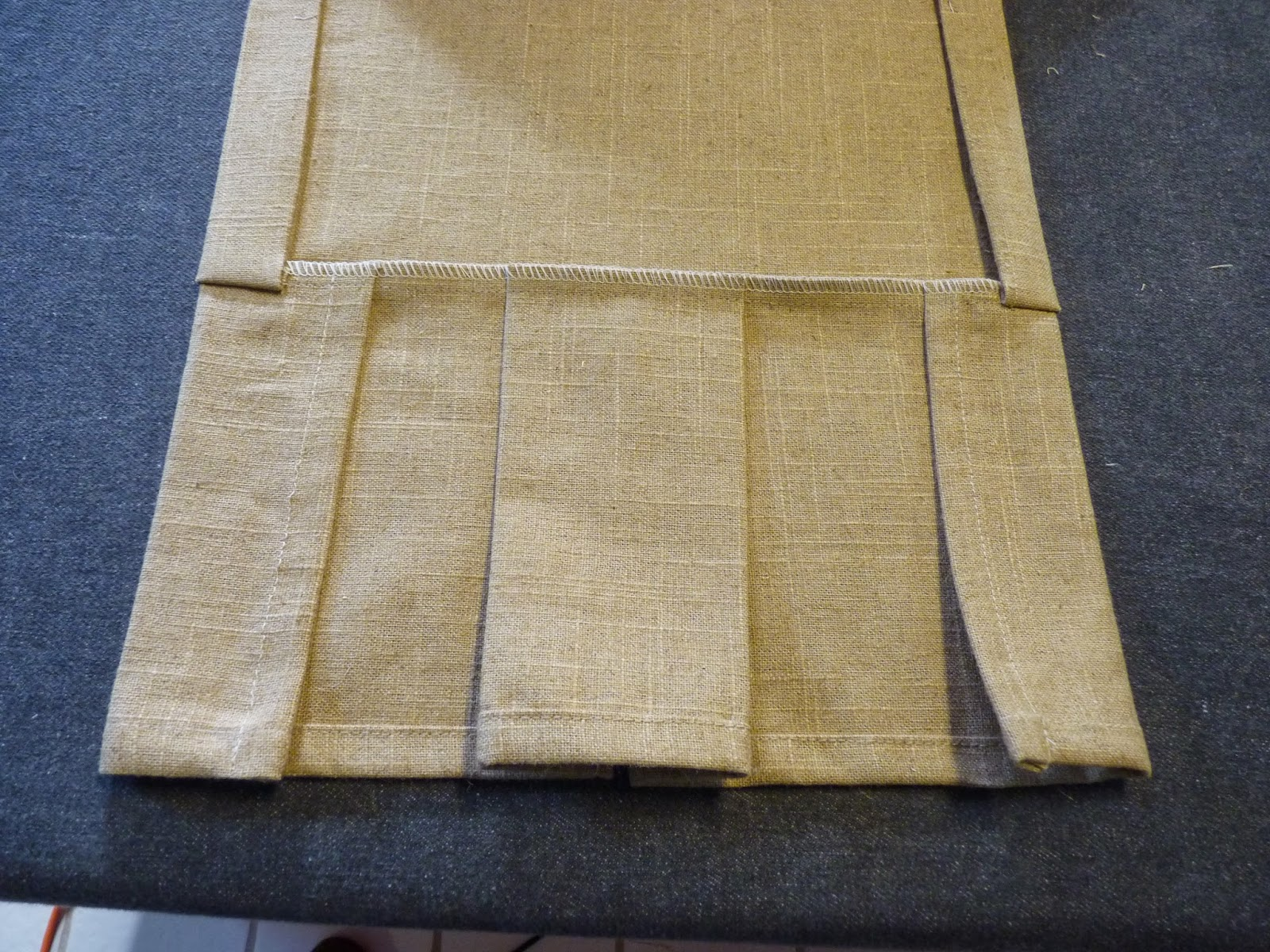 how to make bolt of linen cloth
