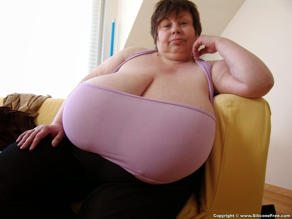image Big boobed fatty granny olga needs two young cocks