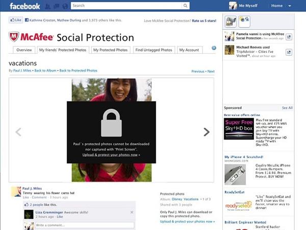 Como evitar el robo de datos y fotos en Facebook