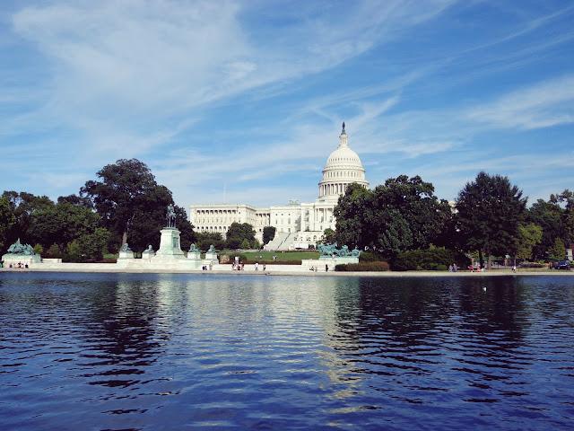 Foto von dem US Kapitol in Washington D.C.