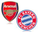 Live Stream FC Arsenal - FC Bayern München