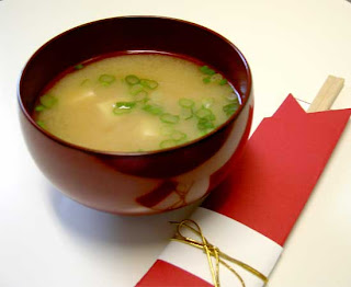 Typical cuisine Japanese Tofu Miso Soup