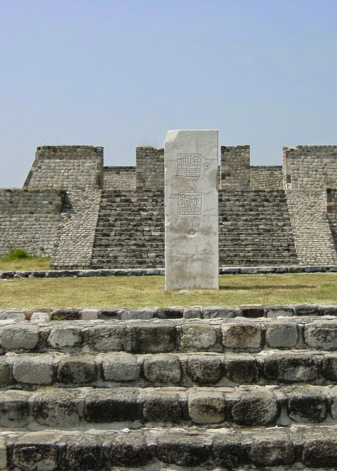 Archaeological Monuments Zone of Xochicalco, Pyramids in Xochicalco