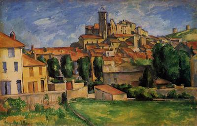 Gardanne (vue horizontale) 1885-86 by Paul Cezanne