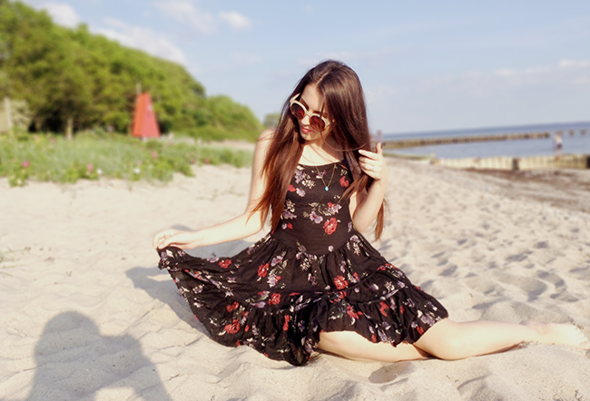 Free People Circle of Flowers slip aimerose fashion blog