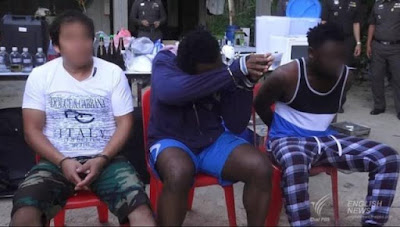 photos Nigerian drug dealers in thailand