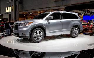 2014 Toyota Highlander Release Date & Price