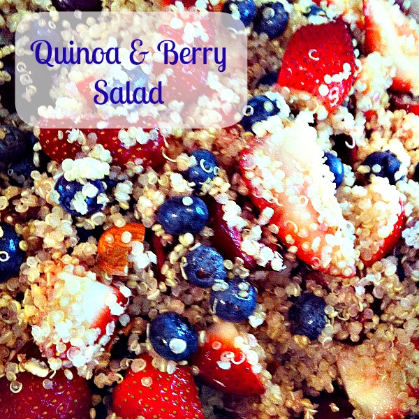 High Protein Quinoa Almond Berry Salad Recipes — Dishmaps