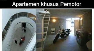 apartement khusus pemotor