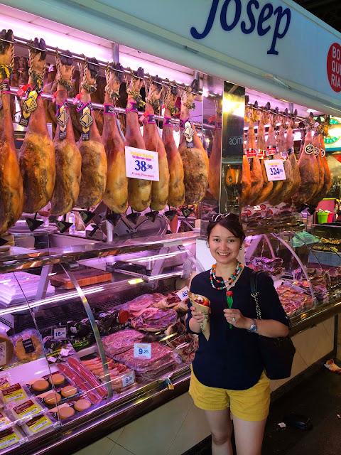 Jamon | St Josep La Boqueria | Barcelona | Chichi Mary Blog