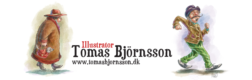 Illustrator Tomas Bjornsson