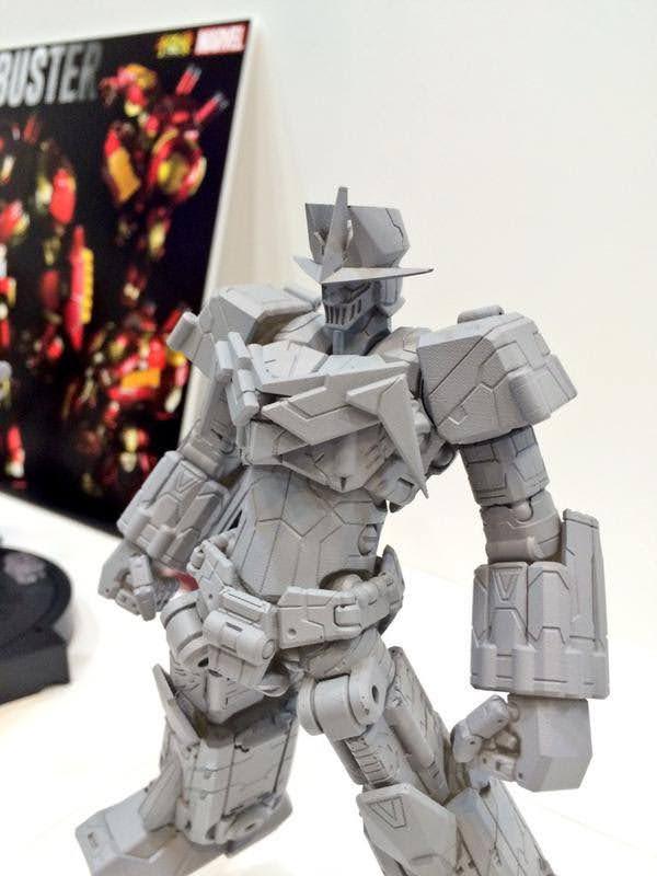 Sentinel Toys METAMOR-FORCE Psycho Armor Govarian Wonder Festival 2015 Summer prototype toy image 00