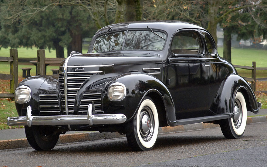 Cascadia Classic - Vintage cars in Portland Oregon: 1939 Plymouth ...