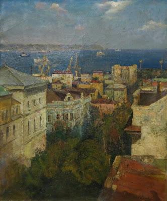 Константин Калиновский, Город у моря, 1986