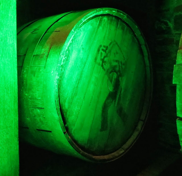 Jameson whiskey barrel