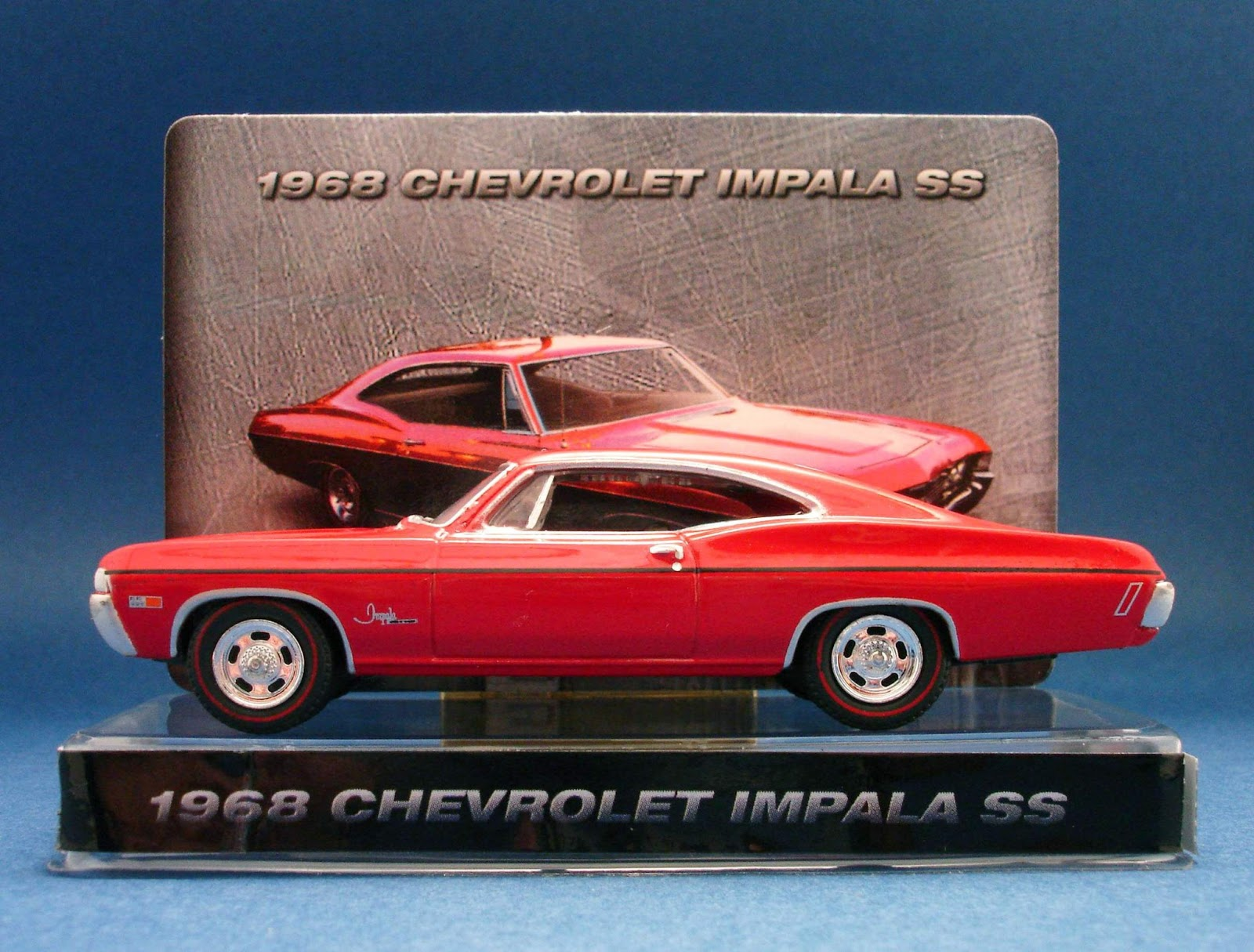 Diecast Hobbist 1968 Chevrolet Impala Ss Custom Coupe