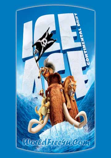 Poster Of Ice Age 4 (2012) In Hind