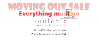 Soul Chic Moving Out Sale 2012