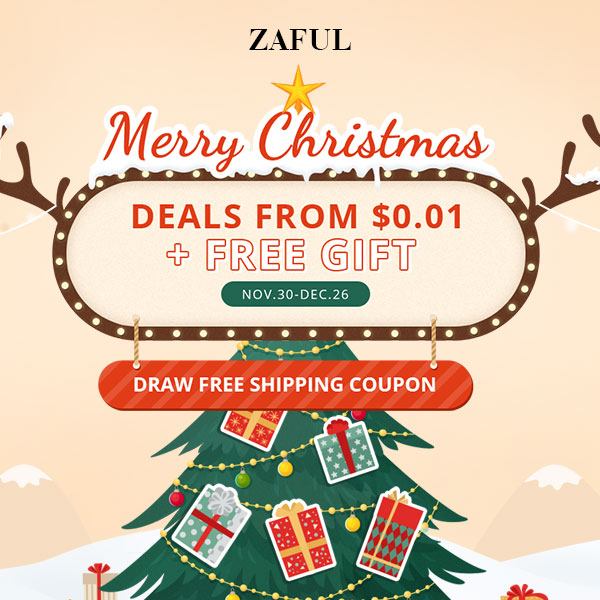 Zaful Merry Christmas