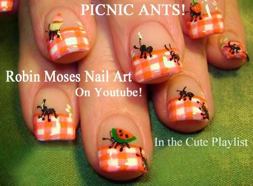 """Nail Art: """"watermelon nails"""" """"watermelon nail art"""" """"kiwi nail art ..."""